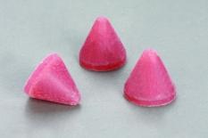 Đá nón nhựa hồng đánh bóng