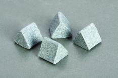 Đá tam giác ceramic đánh thô 3