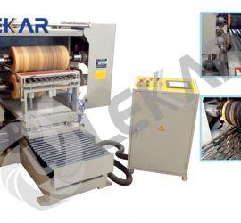 Máy đánh bóng ống tròn ống vuông tự động 2 mặt LKC-24MP02-50-15.36, bàn làm việc 500x1500mm, động cơ 15.36kW