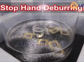 Công nghệ máy quay kim - Xử lý siêu bóng chi tiết kim loại