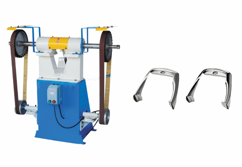 Cấu tạo máy mài dây đai có gì đặc biệt khiến nó trở nên đa năng trong công nghệ đánh bóng bề mặt kim loại.