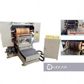Máy đánh bóng ống tròn ống vuông, tự động 2 mặt LK-07H89-2S-15, 2 đầu mài đai, có rung lắc