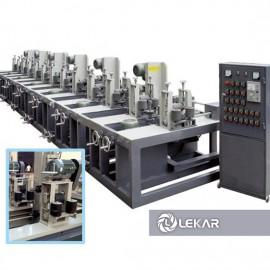 Máy đánh bóng ống vuông tự động 4 mặt 6 tổ mài LK-05C166-96, không có rung lắc