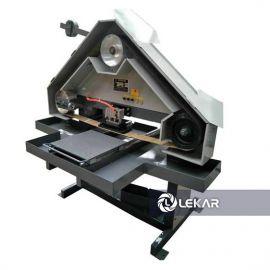 Máy đánh bóng 1 mặt thủ công LK-03H40X-2.2, tam giác (máy đánh bóng xước mặt phẳng hình tam giác)
