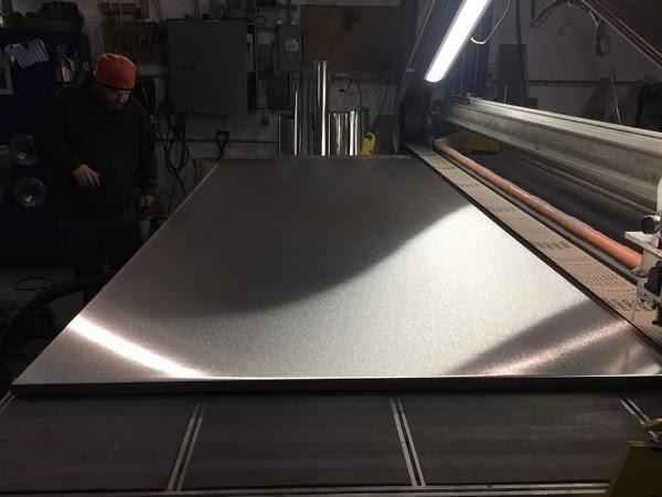 Máy mài kim loại phẳng dạng tấm